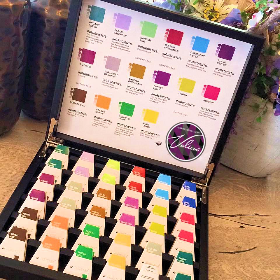 40 soorten thee bij Brasserie Velius