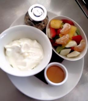 Verfrissende yoghurt verrassing